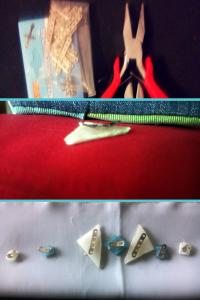 preparado piezas para coser