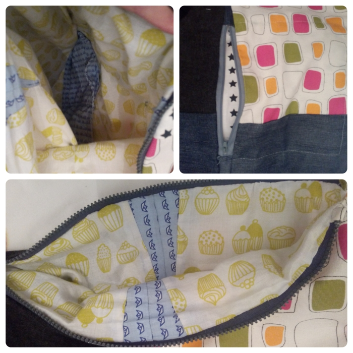 interior y bolsillos bolso